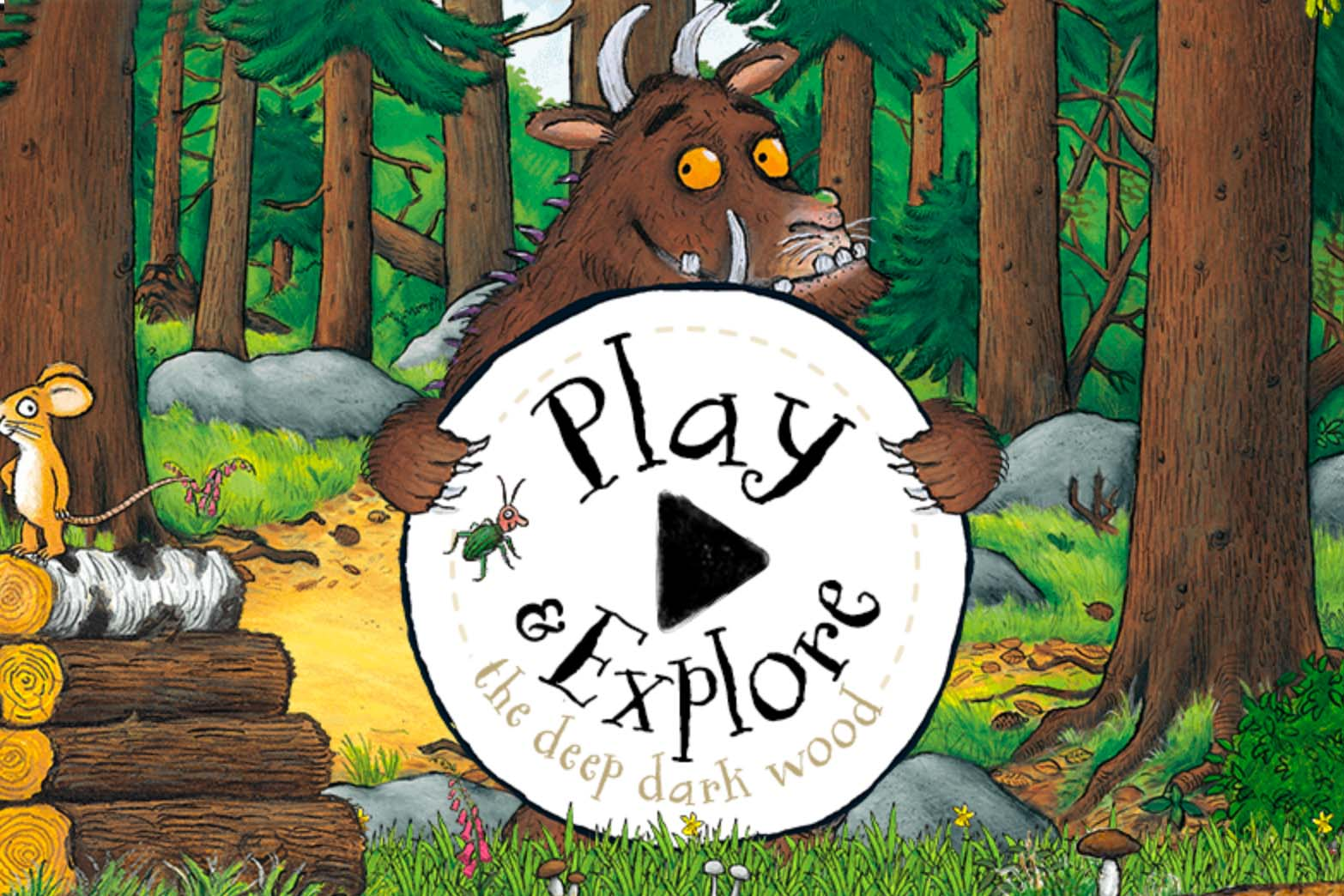 the gruffalo stories and games